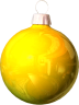 christmas_Bulb_Yellow_light