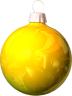 christmas_Bulb_Yellow_light